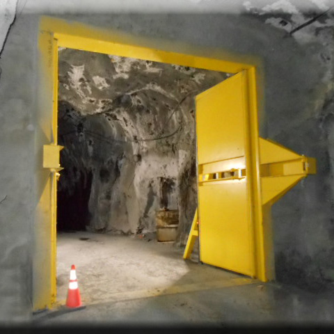 Click image below to download the product brochure. & High Pressure Ventilation Mine Doors | Hoffman Manufacturing