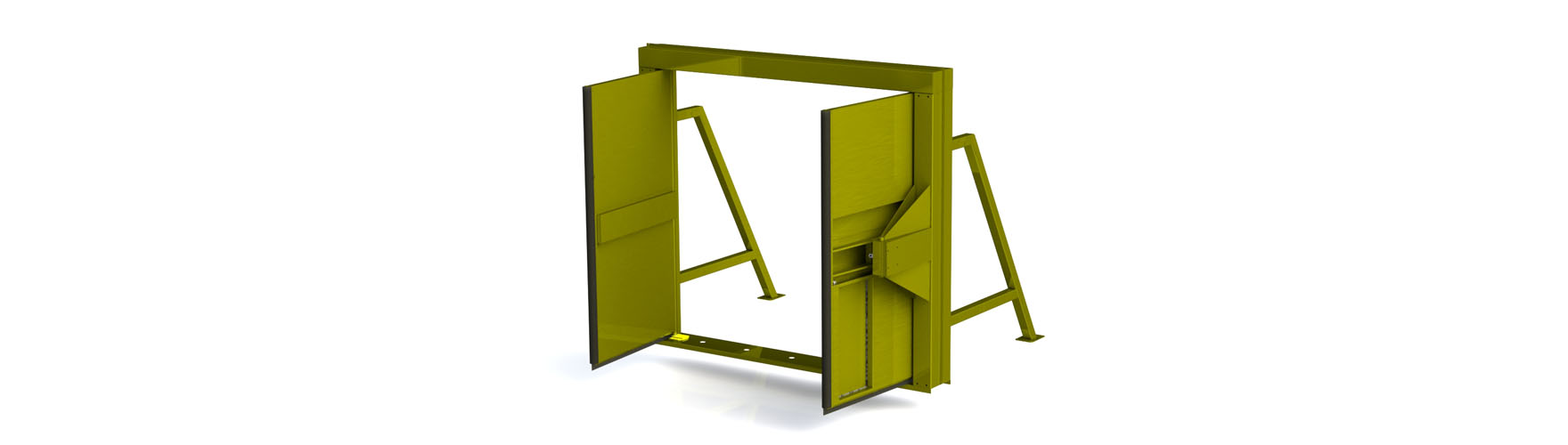 Mine Door Systems. mds-bf