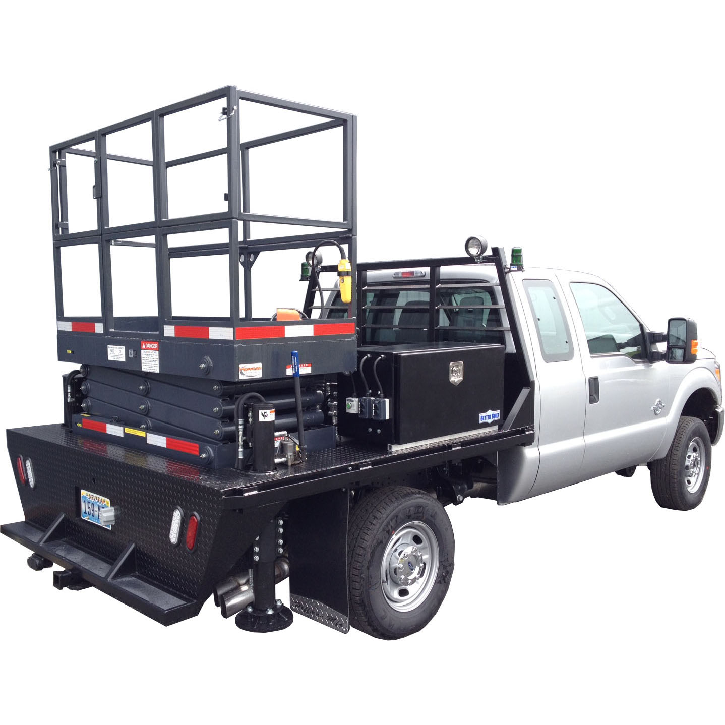 Boom Scissor Lifts Personnel Carrier Hoffman Manufacturing