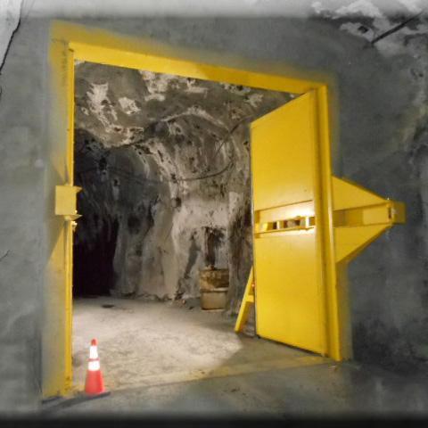 High Pressure Ventilation Mine Doors Hoffman Manufacturing